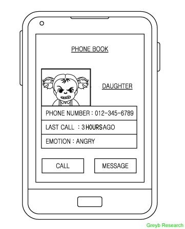 Samsung-phonebook-that-detects-emotions-of-a-caller