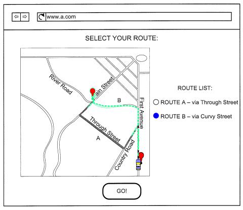 Maps in Google Driverless Car