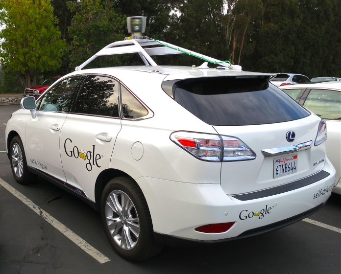 Google Driverless Car - RX450h