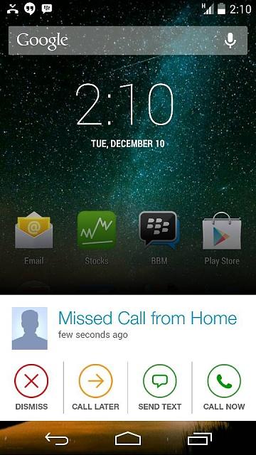 Missed Call Alert App of Google