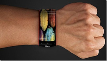 flexible-bendable-shape-changing-samsung-smartphone-on-wrist